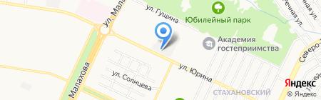 Алтайский медицинский центр на карте Барнаула