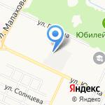 Городская клиническая больница №11 на карте Барнаула