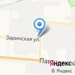 Маннол на карте Барнаула