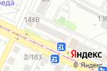 Схема проезда до компании Виртуаль в Барнауле