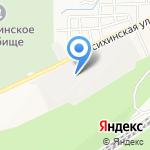 ПК Хлебный Алтай на карте Барнаула