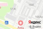 Схема проезда до компании Мастерская по ремонту автокондиционеров в Барнауле