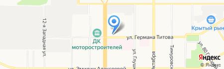 Оптика плюс на карте Барнаула