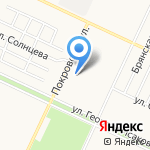АВТОСВЕТ OPTIMA БАРНАУЛ на карте Барнаула