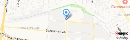 Русский хлеб на карте Барнаула