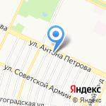 У Константина на карте Барнаула