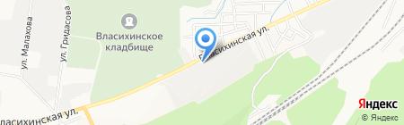 Флора на карте Барнаула