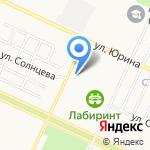 Автореальность на карте Барнаула