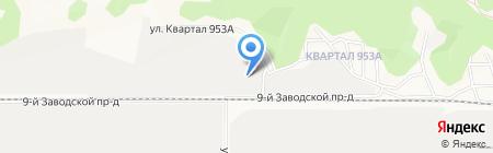 Wood Land на карте Барнаула