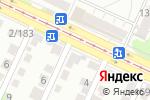 Схема проезда до компании Авангард в Барнауле