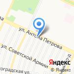 Алтайский Центр Специальных Технологий и Безопасности на карте Барнаула