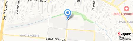Лесная сказка на карте Барнаула