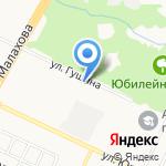 Алтайвита на карте Барнаула