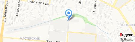 Реминко на карте Барнаула