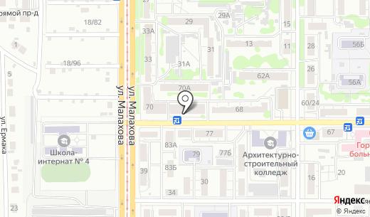 Аватар-сервис. Схема проезда в Барнауле