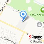 Алтайский центр остекления на карте Барнаула