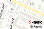 Схема проезда до компании Фламинго в Барнауле