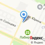 Лаборатория цвета на карте Барнаула