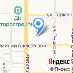 Барнаульский базовый медицинский колледж на карте Барнаула