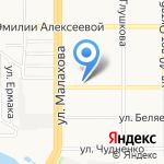 Аватар-сервис на карте Барнаула