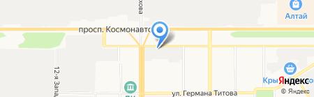 Межрайонный отдел судебных приставов по розыску должников и их имущества на карте Барнаула