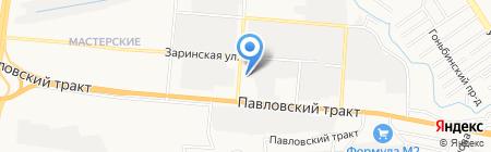 Ассорти-Моторс на карте Барнаула