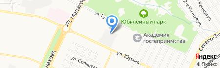 Алтайские турники на карте Барнаула