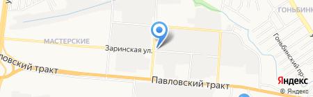 Магазин автоаксессуаров на карте Барнаула