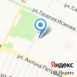 Штурмак на карте Барнаула
