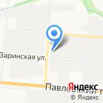 Сибиндустритехмаш на карте Барнаула