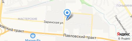 Агро Эксперт Груп на карте Барнаула