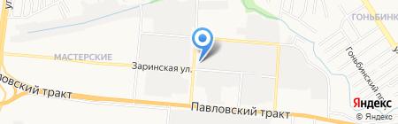 Izeo.ru на карте Барнаула
