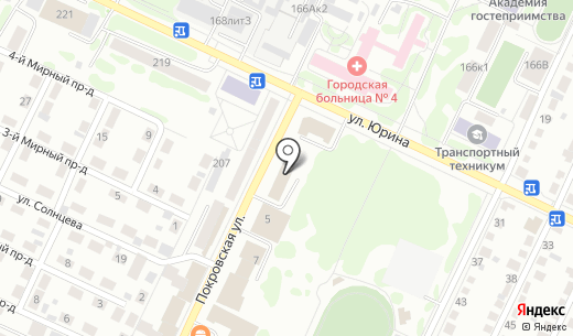 Рено-Шоп. Схема проезда в Барнауле