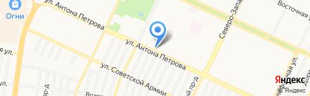 Банкомат Банк ВТБ 24 на карте Барнаула