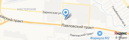 ГрузовойСервис на карте Барнаула