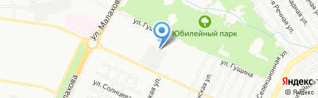 АбсолютАвто на карте Барнаула