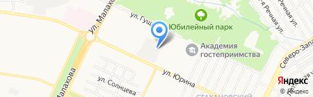 Dol на карте Барнаула