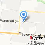 СИБМИР Групп на карте Барнаула
