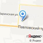 НовоПласт на карте Барнаула