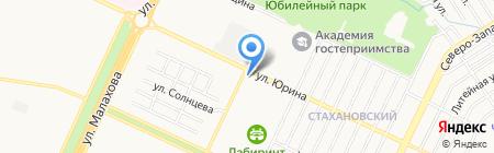 Аномалия на карте Барнаула
