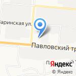 Центр Информационной Безопасности на карте Барнаула