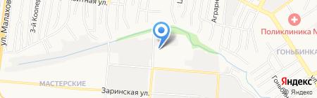 Автосервис на карте Барнаула