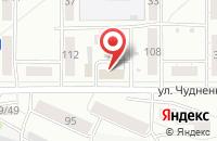 Схема проезда до компании Парадигма и Ко в Барнауле