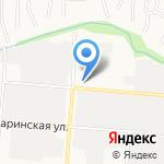 УЗОРНЫЙ ПОКРОВ на карте Барнаула