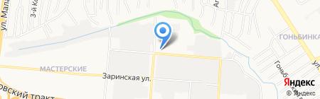 Алтайполимер на карте Барнаула