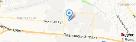 АБС-ВАЗ на карте Барнаула