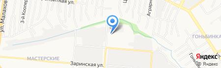 СИБ-ТРАКТЗАПЧАСТЬ на карте Барнаула