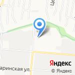 Бора на карте Барнаула