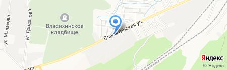 Pinpay express на карте Барнаула