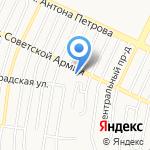 Юлия на карте Барнаула